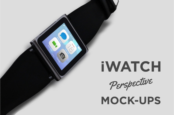 IWatch Perspective Mock-ups