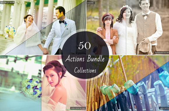 50 In 1 Photoshop Actions