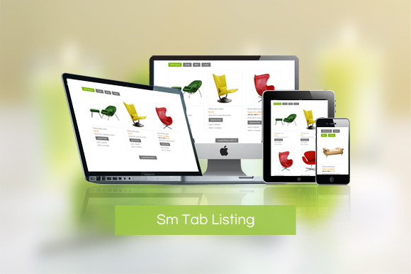 SM Tab Listing Magento Module
