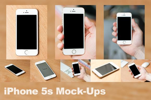 IPhone 5s Mock-Ups
