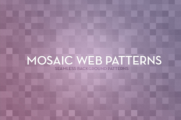 Mosaic Web Patterns