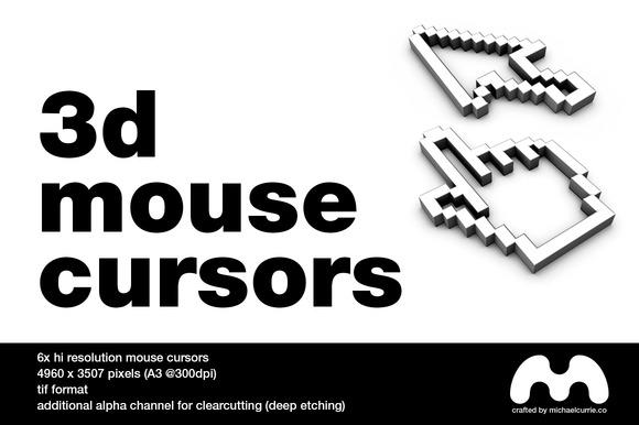 3D Mouse Cursors