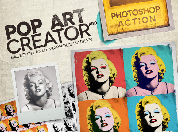 POP ART Creator PRO PS Action