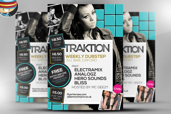 Traktion Flyer Template 8