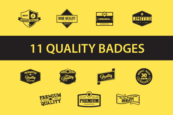 Quality Badges Labels