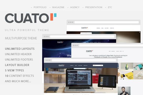 Cuato- Multi-Purpose WordPress Theme