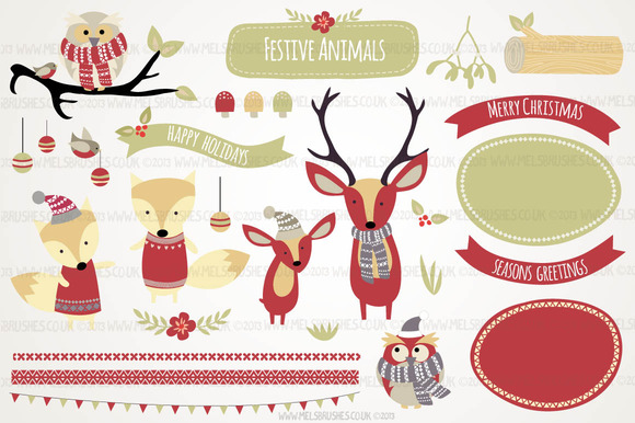 Festive Animals