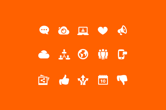 Social And Networking Icons