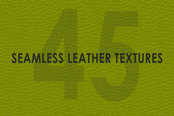 45 Colors Seamless Leather