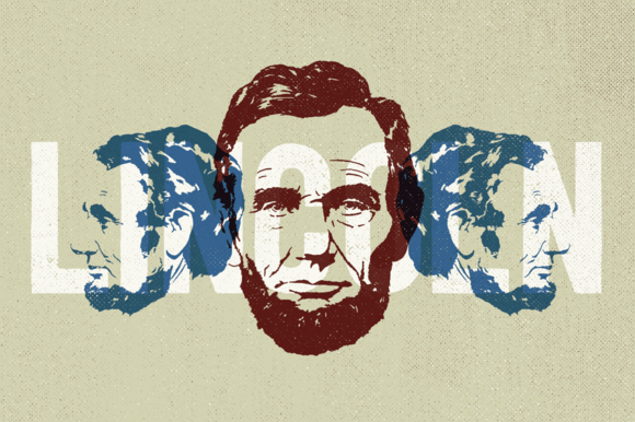 2 Lincoln Illustrations By Hand