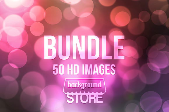 50 Bokeh Backdrops Bundle