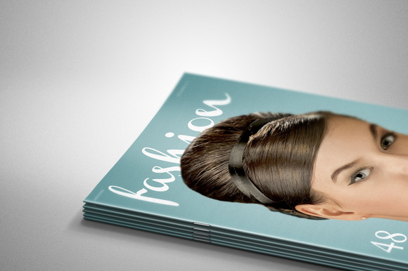 Pile Of Magazines Mock-up