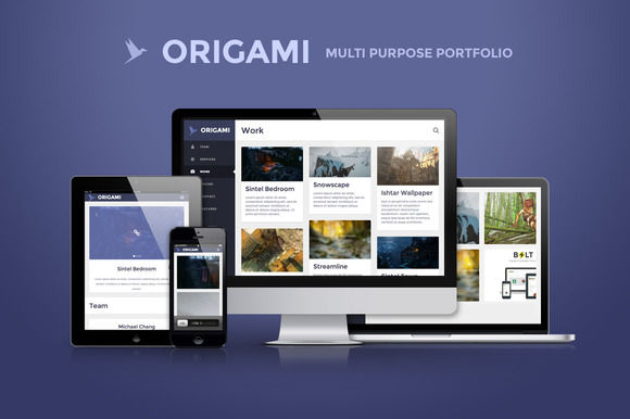 Origami Multipurpose Template