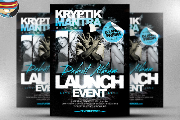 Kryptik Flyer Template