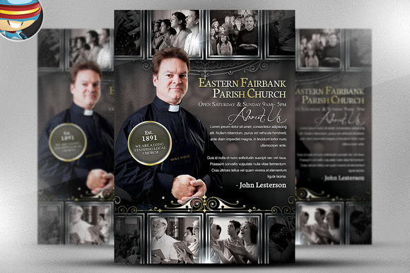 Parish Flyer Template