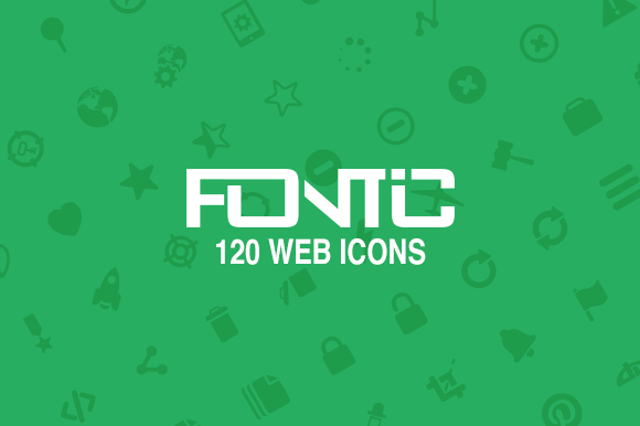Fontic 120- Web Icons