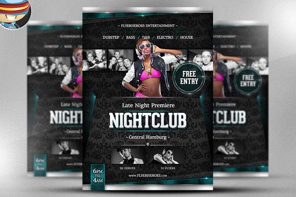 Late Night Premiere Flyer Template