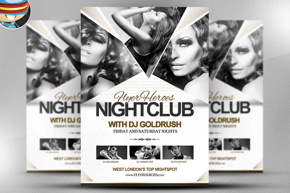 FH Nightclub Flyer Template