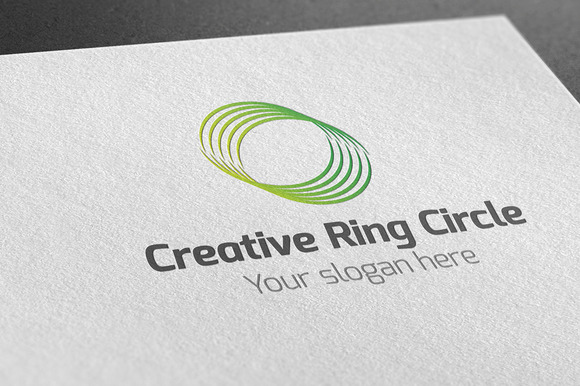 Creative Ring Circle Logo
