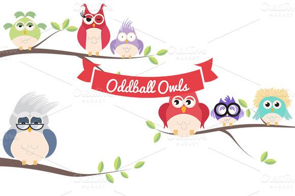 Oddball Owls Vol 1