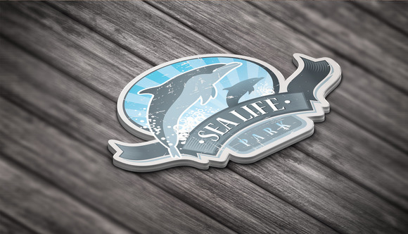 3D Logo Mock Up