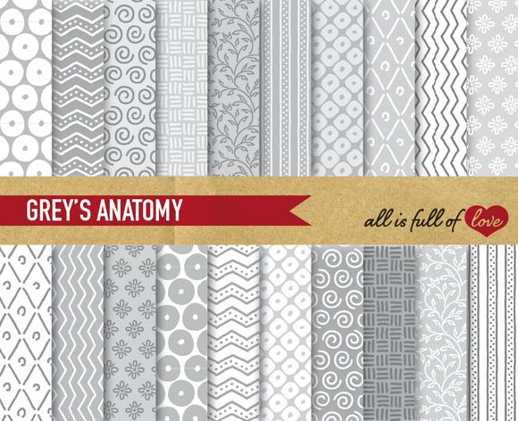 Grey Digital Background Patterns