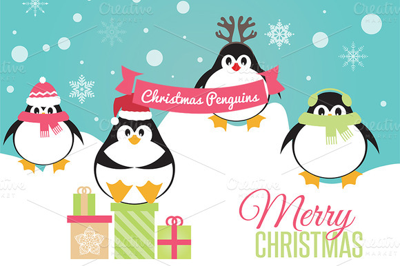 Christmas Penguins Vol 1