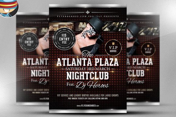 Atlanta Plaza Flyer Template
