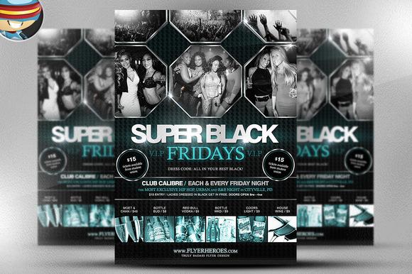 Super Black Friday Flyer Template