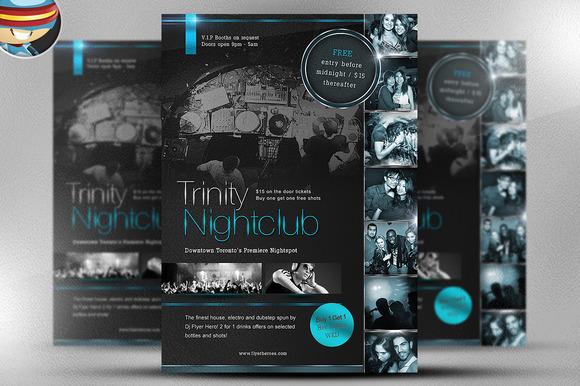 Trinity Nightclub Flyer Template