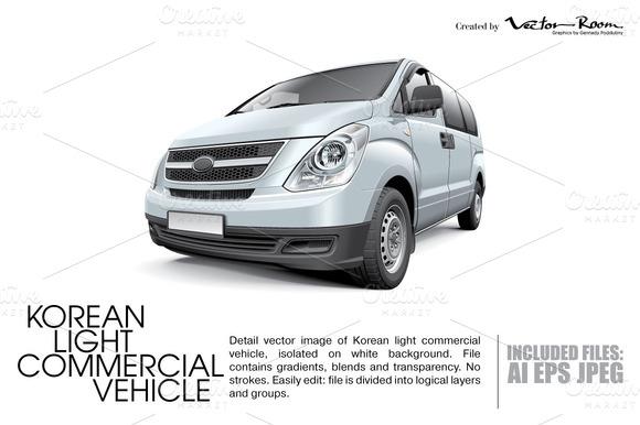 Korean Light Commercial Vehicle
