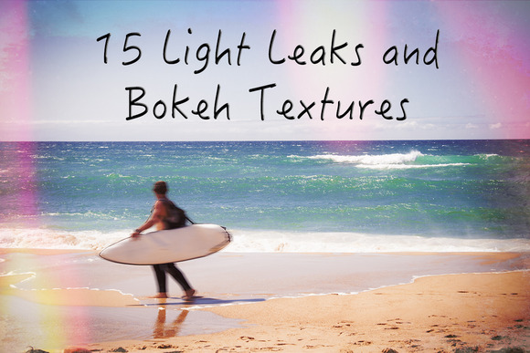 15 LightLeaks And Bokeh Textures