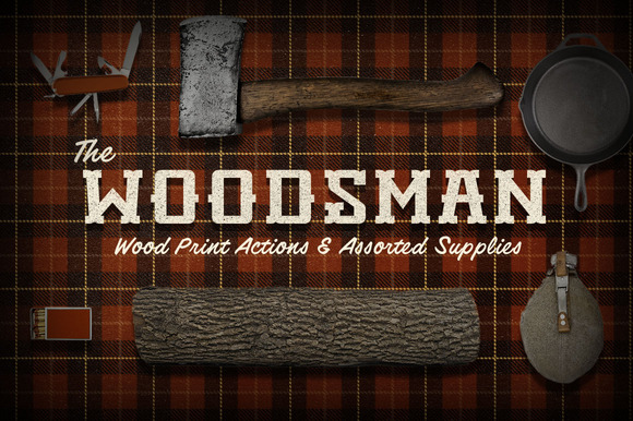 The Woodsman PSD Actions