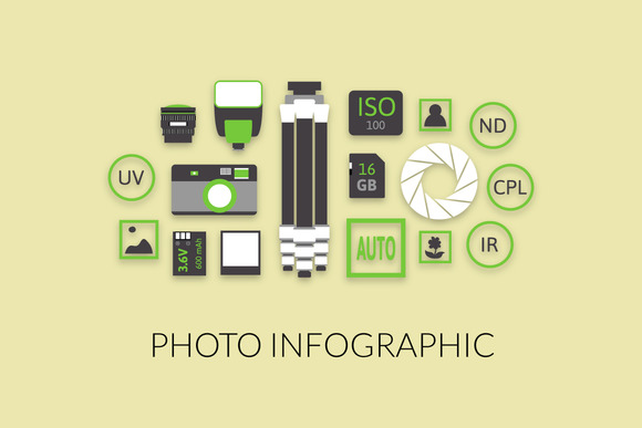 Photo Infographic Collection