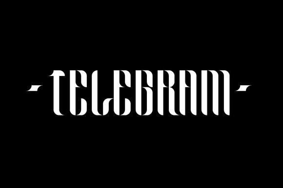 Telegram Typeface