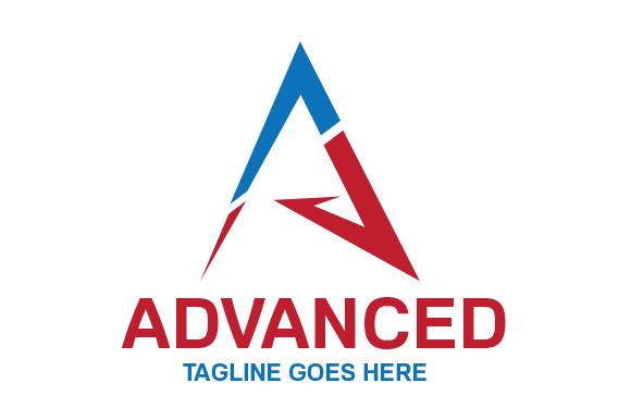 Advanced A Logo Template
