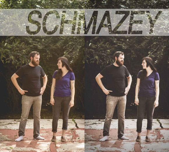 Schmazey Photoshop Action