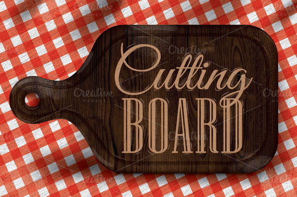 Poster Cutting Board