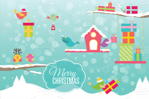 Christmas Birds Vol 1