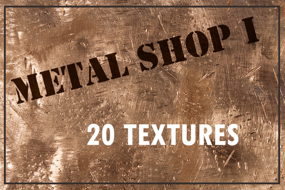Metal Shop I 20 Metal Textures