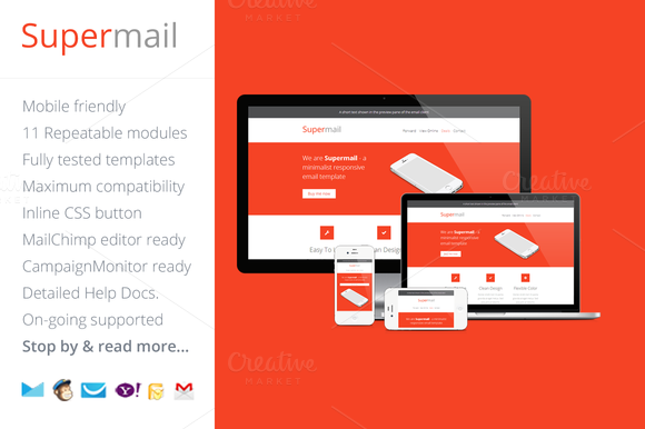 Supermail Responsive Email Template