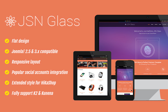 JSN Glass Ecommerce Template