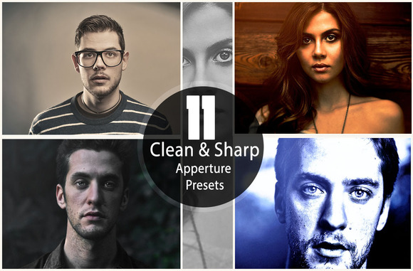 11 Clean Sharp Aperture Presets