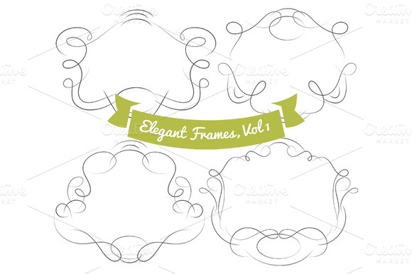 Elegant Frame Pack Vol 1