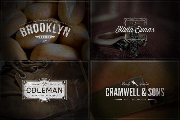 Vintage Logos Vol.4