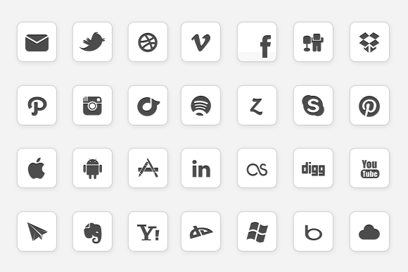 IC Minimal Icon Set Updated