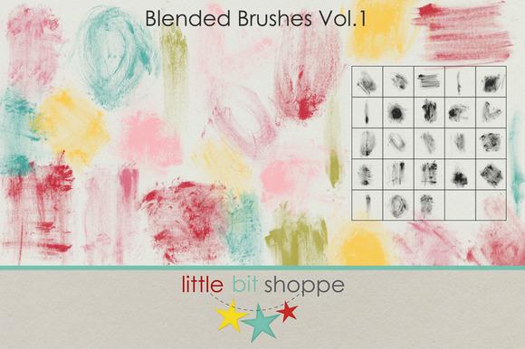 Blended Brushes Vol 1