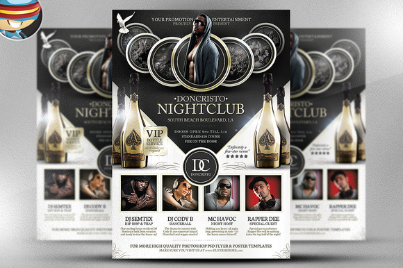 Doncristo Flyer Template