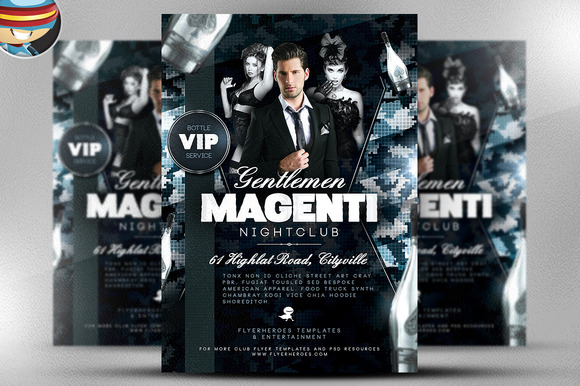 Magenti Flyer Template