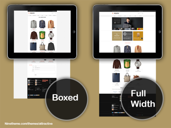 Attractive Wordpress ECommerce